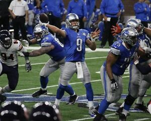 DETROIT LIONS SECTION 129 ROW 4 AND 14 - 2 SEATS EACH SPOT