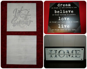 Home Decor Signs - Let it Snow / Home / Inspirational