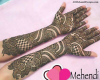Mehendi Artist for Bridal and Party Occasions - Mississauga