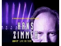 Hans Zimmer Live in London - 6 tickets - 15th June