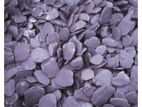 Slate chippings 20mm 1 ton bulk bag delivery