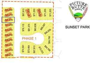 Residential Lot For Sale in Sunset Park of Picture Butte