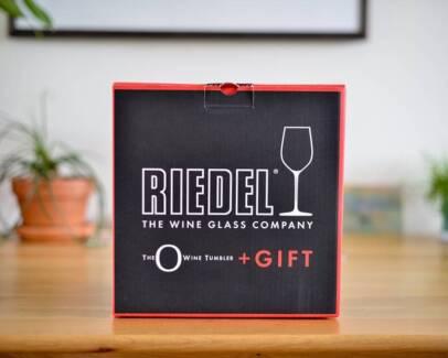 Reidel Wine Tumblers x 4 plus Decanter