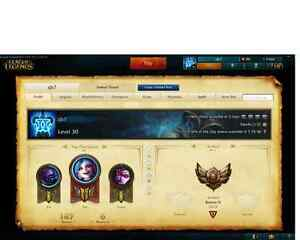 Selling League Account! $125 obo