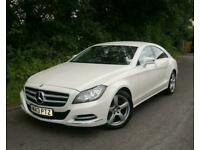 2013(13) MERCEDES CLS250 2.1 CDI BLUEEFFICIENCY DIESEL COUPE 204 AUTOMATIC WHITE