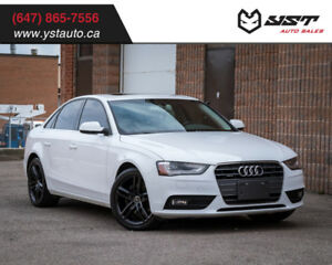 2013 Audi A4 Premium Plus AWD | NAV | SunRoof | Backup Sensors