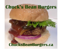 Chuck's Bean Burgers | Eating healthy and living healthy