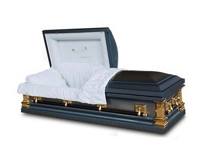 Brand New 18 Gauge Steel Coffin Casket