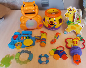 BABY TOY LOT - 11 TOYS TOTAL