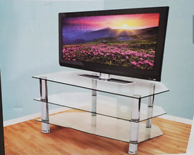 Glass TV stand brand new