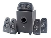 NEW LOGITECH Z506 DOLBY 5.1 SURROUND SOUND SPEAKERS