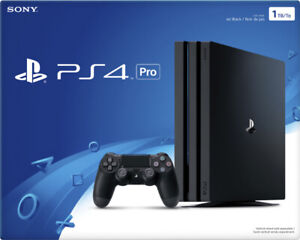 PLAY STATION-4 PRO / BRAND NEW