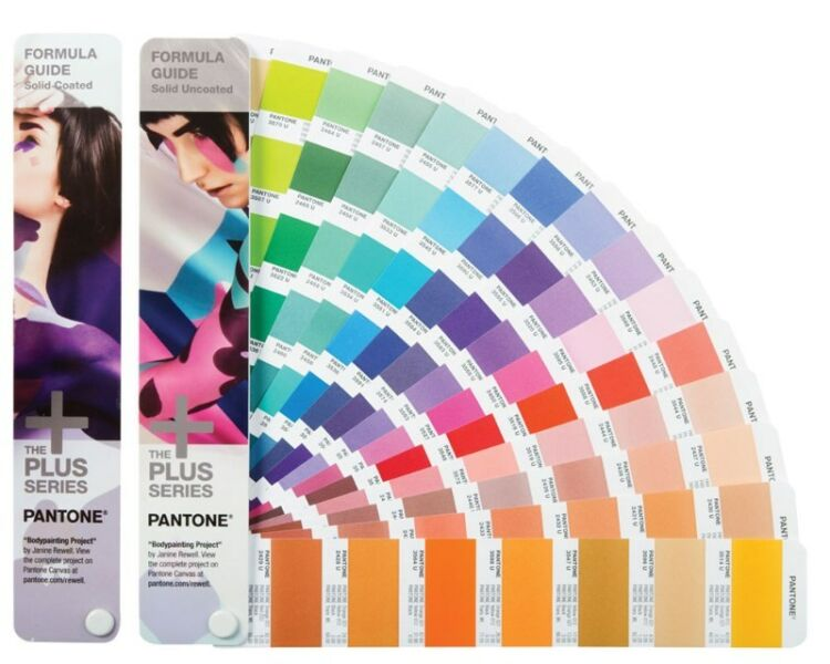 Pantone Chart & pantone Book coated and uncoated standard range GP1601-N latest edition full range
