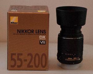 Lens Nikon AF-S DX NIKKOR 55-200mm f/4-5.6G ED VR II
