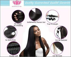 "100% Virgin Human Remy Hair Extensions,20"",7A,100g,Unprocessed Yellowknife Northwest Territories image 5"