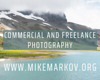 Professional Commercial and Freelance Photography