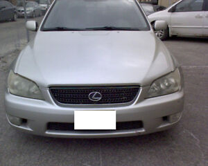 parting out lexus is300