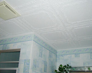 Glue-on ceiling tiles in Canada now! -  (l4j 2n2)