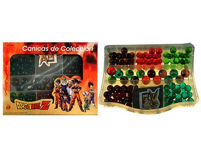 56599. Aktentasche Bälle Dragon Ball Z.115 Murmeln aus Glas + Tapete Set (Dragon Ball Z Bälle)