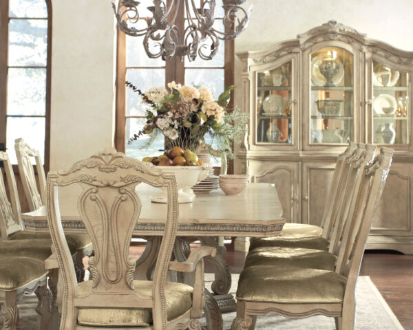 Stunning Ortanique Dining Set By Ashley, Ashley Furniture Ortanique Collection