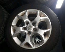 VAUXHALL VECTRA-ASTRA SRI 16 INCH ALLOY & TYRES