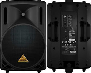 "Monitors Behringer EUROLIVE B112D 12"" Active Speaker Pair"