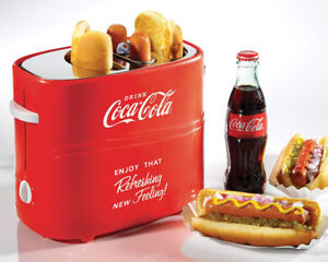 NEW: Nostalgi Coca-Cola Pop-Up Hot Dog Toaster