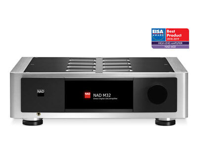 NAD M32 AMPLIFICATORE DIGITALE DAC USB COAX OPT RCA XRL MCD BLUOS Optional