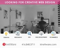Web Design and Development - Ecommerce Solutions