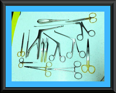 12 Each Arthroscopic Rhinoscopy Instruments Set Stainless Steel