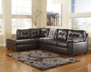 Ashley Alliston Choclate Sectional Brand New