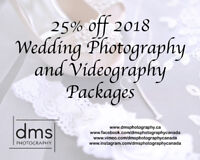 25% Off 2018 Wedding Photography and Videography Packages