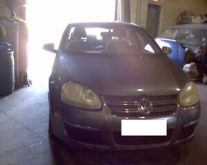 parting out the 2006 Volkswagen Jetta Tdi Diesel 5spd Manual for