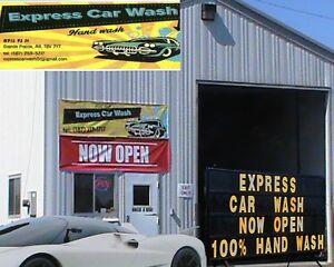 Express Car Wash in Grande Prairie