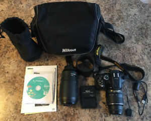 Excellent condition Nikon D5200 comes with everything you need.