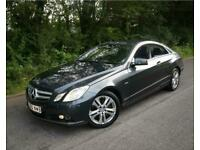 2011(60) MERCEDES E220 2.1 CDI BLUEEFFICIENCY COUPE DIESEL 204 AUTOMATIC GREY