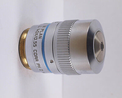 Leica N Plan L 40x Corr Ph2 Phase Contrast Long Wd Microscope Objective