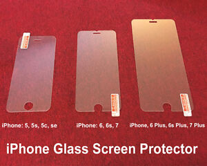 NEW TEMPERED GLASS IPHONE SCREEN PROTECTORS