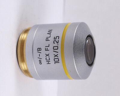 Leica Hcx Fl Plan 10x M25 Infinity Microscope Objective