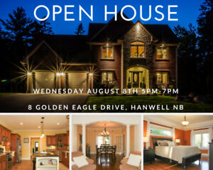 Public Open House Sunday 2-4 with Rob Brown @ 8 Golden Eagle Dr