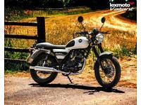 Lexmoto Valiant 125cc Motorbike Leaner Legal Classic Retro White Pea Shooter