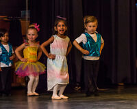 DANCE CLASSES FOR 2 1/2 TO 3 1/2 YEAR OLDS