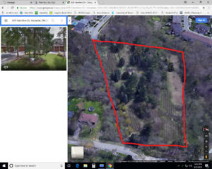 Ancaster Lot!!! Build your custom estate home on 4.7 Acres