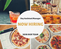 Day Assistant Restaurant Manager
