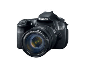 Canon 60D with Ef-s 18-200mm Super Zoom lens