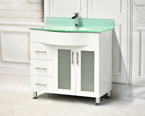 36'' Vanity Set Only $599 (Cabinet+Top+Backsplash+Faucet+Mirror)