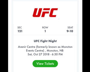 UFC tickets for sale