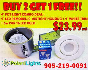 LED POTLIGHT NEW CONS NON IC COMBO SET BUY 2 GET 1 FREE