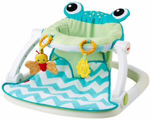 fisher price frog sit me up