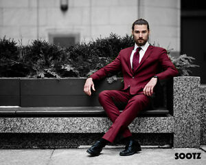 Men's Custom Tailored Suits 60% OFF